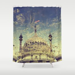 Making time for Reflection Shower Curtain