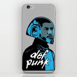 def punk iPhone Skin