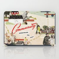community iPad Cases featuring Community by Heather Landis