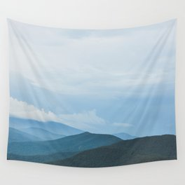 Blue Ridge Mountain Magick Digital Nature Landscape Photography Wall Tapestry
