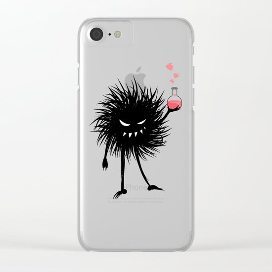 Evil Bug Made A Love Potion For You Clear iPhone Case