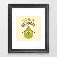 A Fruitful Admonition Framed Art Print