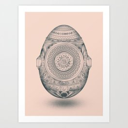 Dystopian Birth Art Print