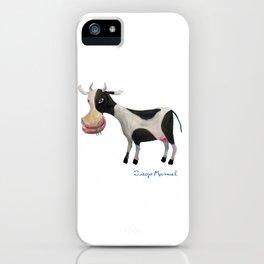 Argentine cow iPhone Case