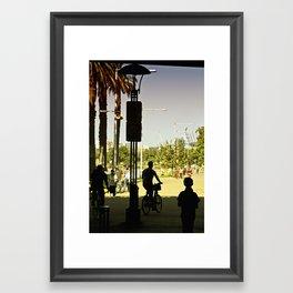 A summer-rising life (Princes Bridge, 2011) Framed Art Print
