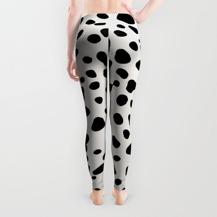 Polka Dots Dalmatian Spots Leggings