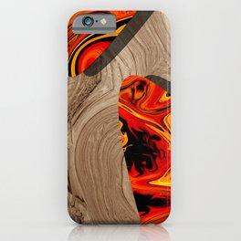LAVA WOOD iPhone Case