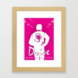 Drive - Movie Poster Framed Art Print