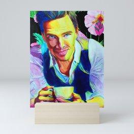 Strange Ben Cumberbatch Mini Art Print