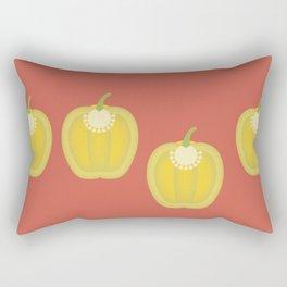 Bell Pepper Rectangular Pillow