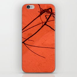 Red sand iPhone Skin