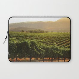 Wine Country Morning Laptop Sleeve