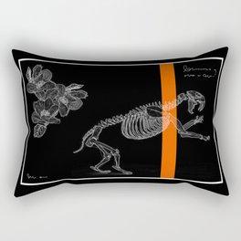 cute bones, tiger skeleton Rectangular Pillow