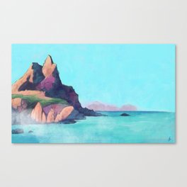 Madeira island Canvas Print
