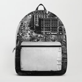 Union Square, New York City, 1911 Backpack