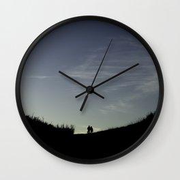 Lovers Walk Wall Clock