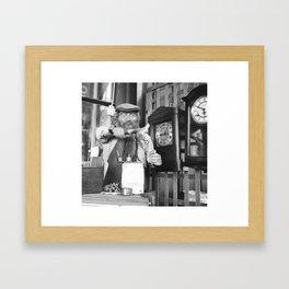 Time-keeper Framed Art Print
