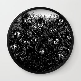 Loads of Friends Wall Clock