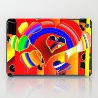valentine iPad Cases featuring Valentine  by JT Digital Art