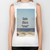 faith Biker Tanks featuring Faith by KimberosePhotography