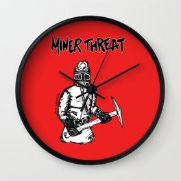 Miner Threat Wall Clock