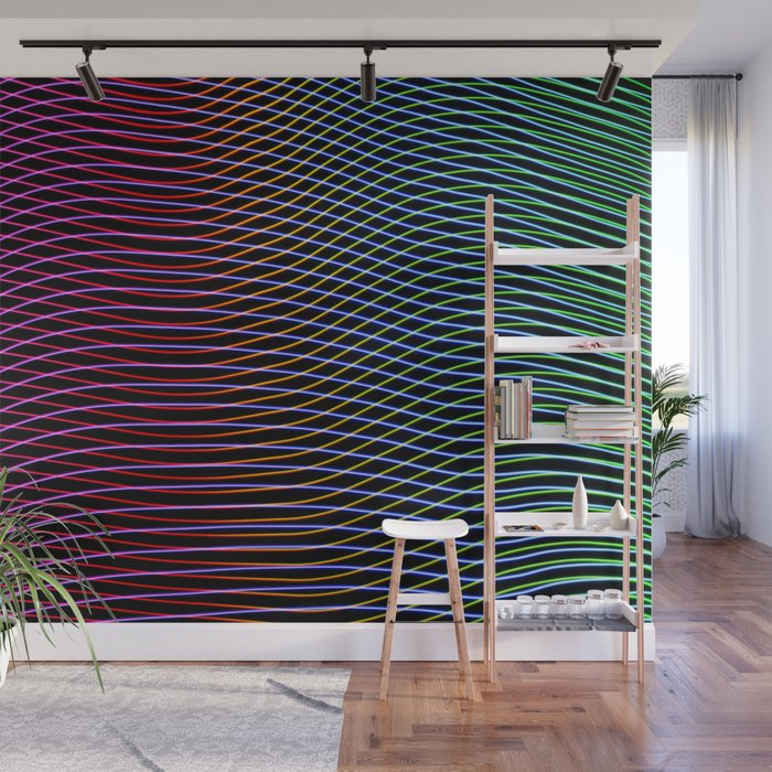 Lines And Patterns Wing Light Painting Wall Mural By Randyloves Lightpainting