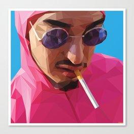 Pink Guy Canvas Print