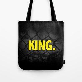 "Urban Font ""King"" Street Design Style Tote Bag"