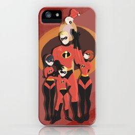 Incredibles family iPhone Case