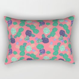 Abstract Cactus Rectangular Pillow