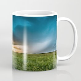Invasion - Colorful Storm Invading Central Oklahoma Plains Coffee Mug