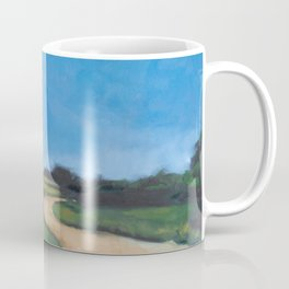 Rooster Crosses the Road Coffee Mug