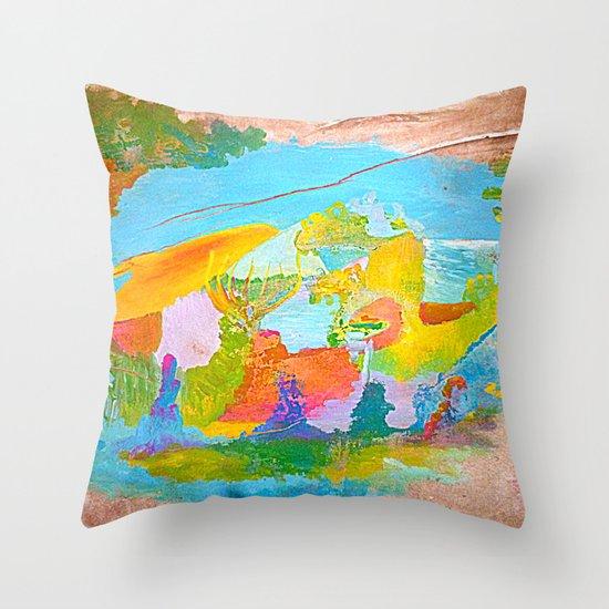 M4wu4l Throw Pillow