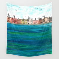 venice Wall Tapestries featuring Venice by Afriquita
