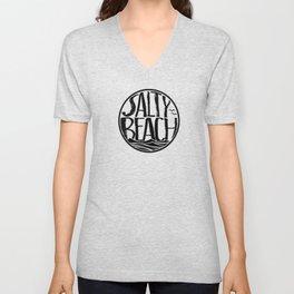 Salty Beach Unisex V-Neck