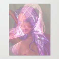 Superimposed Self Outtake Canvas Print
