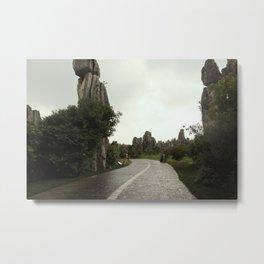 Rain Path Metal Print