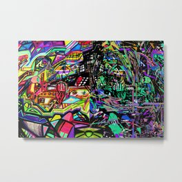 The Mad, The Angry, The Transcendent Metal Print