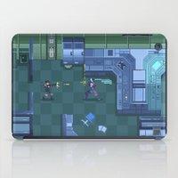 metal gear solid iPad Cases featuring Metal Gear Cyborg Ninja Fight by ansimuz