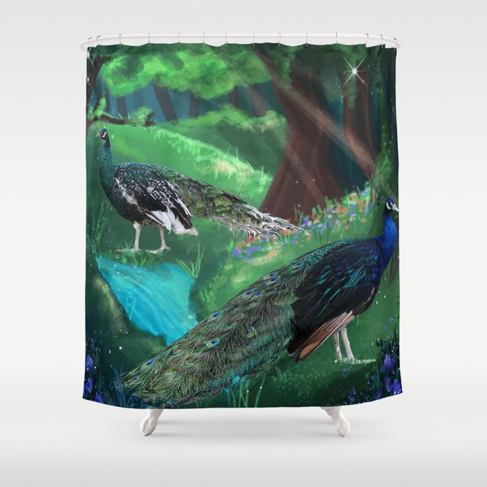 Fred and Ginger Shower Curtain