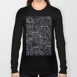 Tracing Faces  Long Sleeve T-shirt