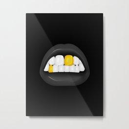 Walkiria - Dark version Metal Print