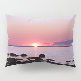 Coastal sunset Pillow Sham