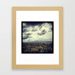 Fields - Badlands, South Dakota  Framed Art Print