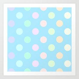 Bubbling Art Print