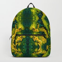 Nomi Malone Green Goddess Backpack