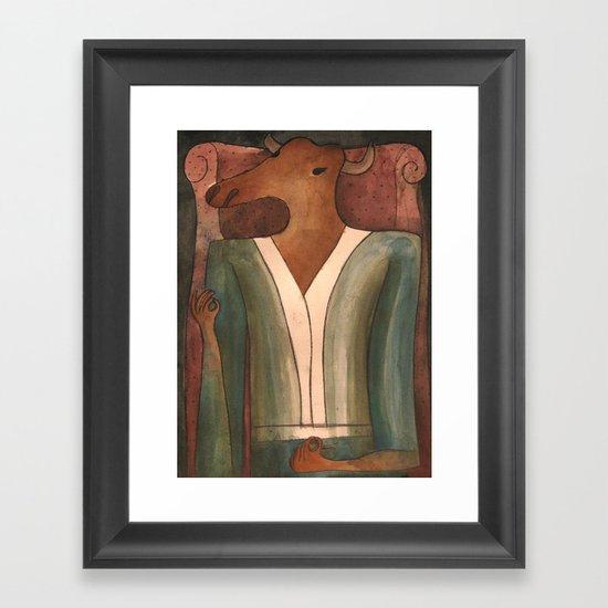 Sitting Bull Framed Art Print