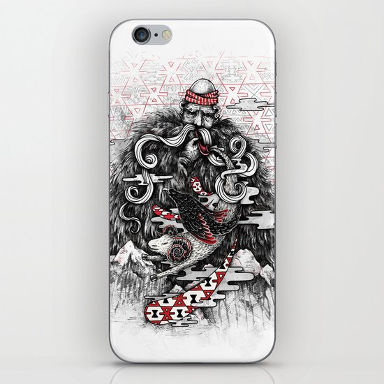 Call of Tradition iPhone & iPod Skin