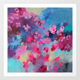 Cherry Blossom Weather Art Print