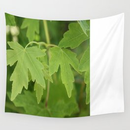 Amber Orientalis Leaves Wall Tapestry